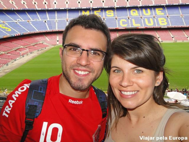 A Experiência No Futbol Club Barcelona Viajar Pela Europa
