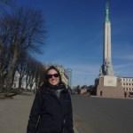 7 – Nathalia e o Monumento da Liberdade
