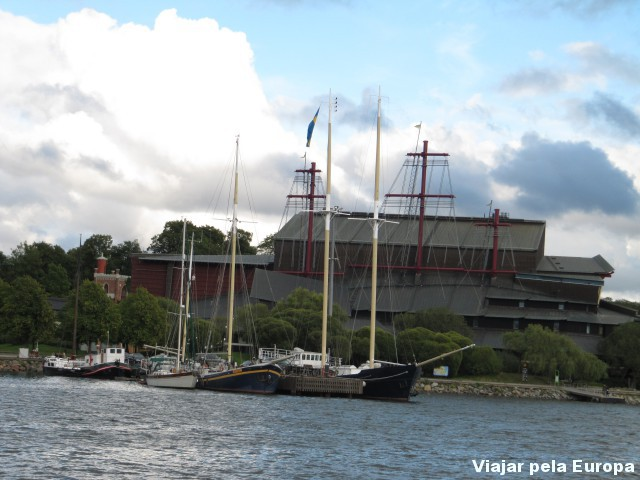 Exterior do Vasamuseet.