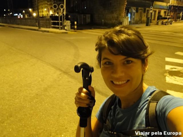 6h: Início do segundo dia de caminhada rumo a Santiago 0/
