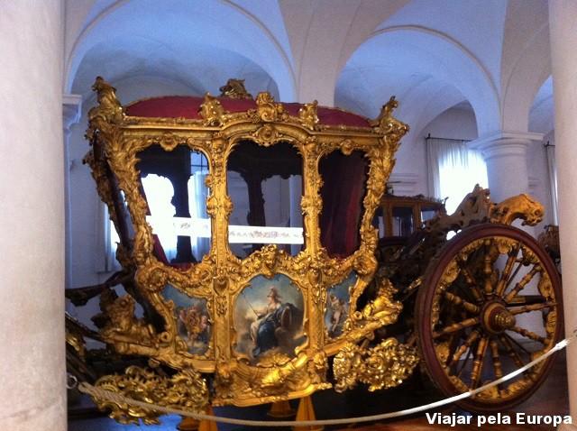 Carruagem no Museu Marstall.