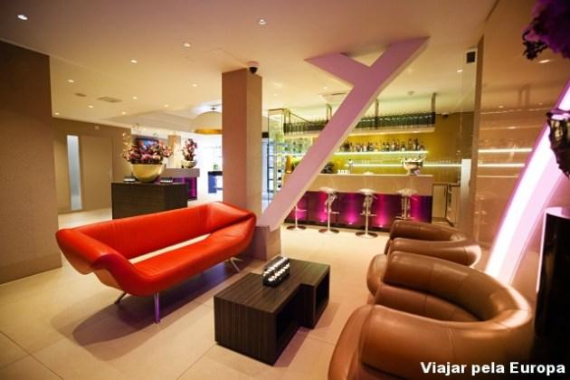 Lounge Lobby super aconchegante.