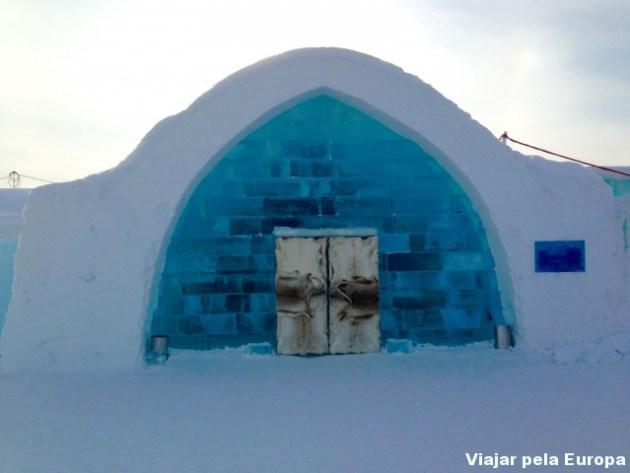 Uma visita linda e exclusiva ao Hotel de gelo em Kiruna. Amei!