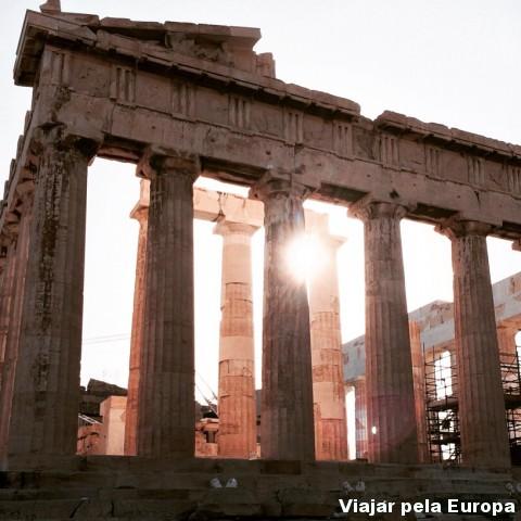 Templo de Atenas!