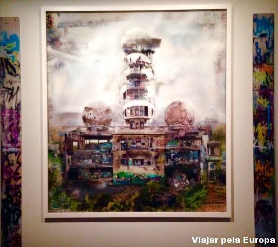 Foto em exposição no Fotografiska.