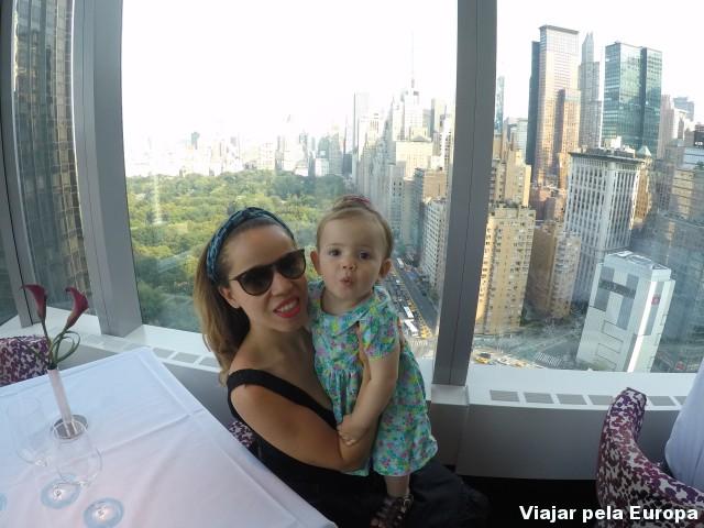 Nova York com bebê de um ano