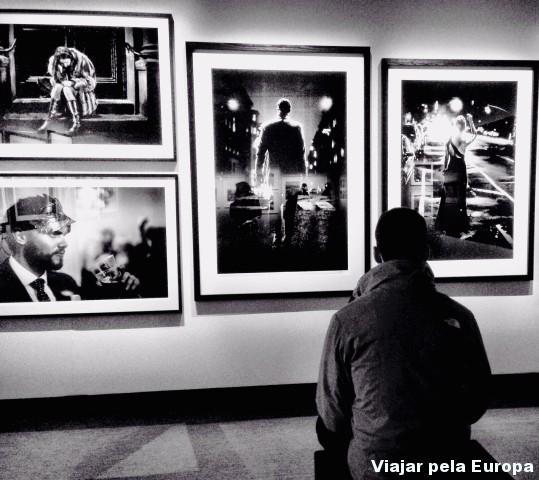O admirador do Fotografiska. :D