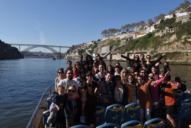 Passeio de barco a convite da Douro Azul :) Crédito: CC BY-NC-ND Associação de Turismo do Porto e Norte, AR.