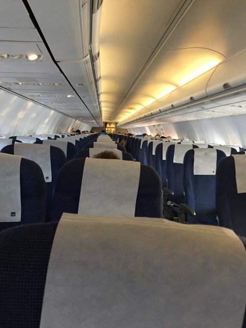 SAS flight almost empty