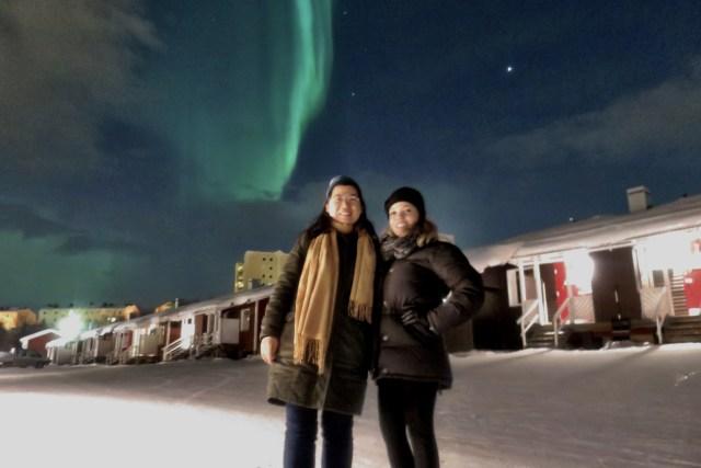 Aurora Boreal Suécia Kiruna