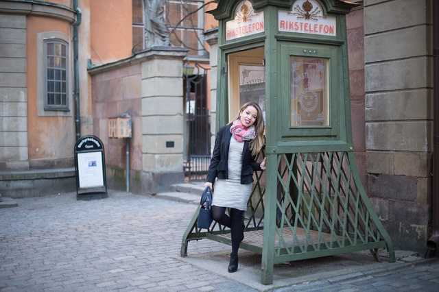 Look do dia - Gamla Stan ; Nobel museum Estocolmo