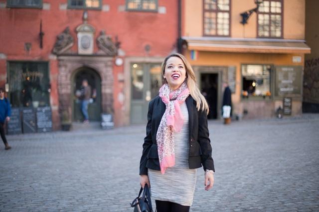 Look do dia - Stortorget - Galma Stan Stockholm