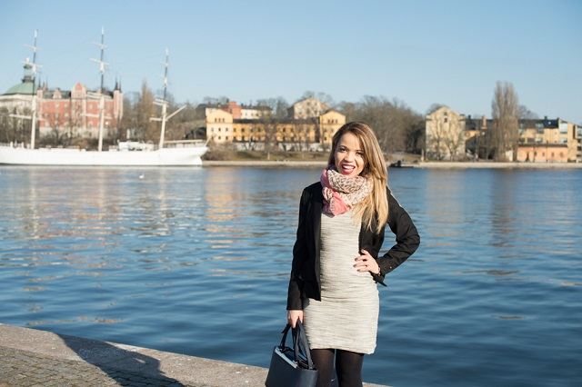 Look do dia - vista para água - Gamla Stan - Stockholm