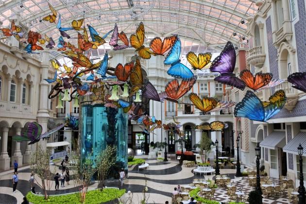 Jardim das Borboletas - Hotel MGM Macau