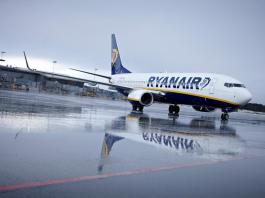 Ryanair vende tickets para o Brasil