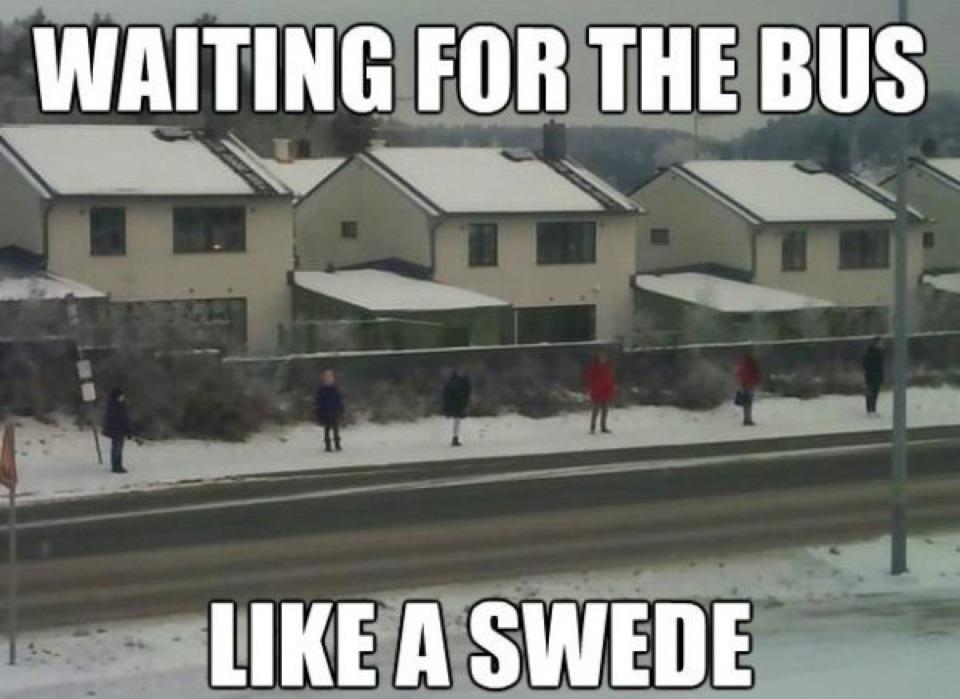 fazer amigos na Suécia