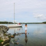velejar pelo arquipélago de Estocolmo
