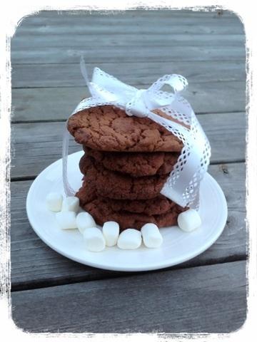 choklad marshmallows kakor