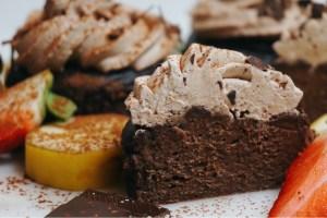 Hälsosamma chokladcupcakes