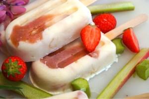 Rabarberglass med yoghurt
