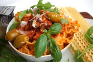 Mustig italiensk pastasås