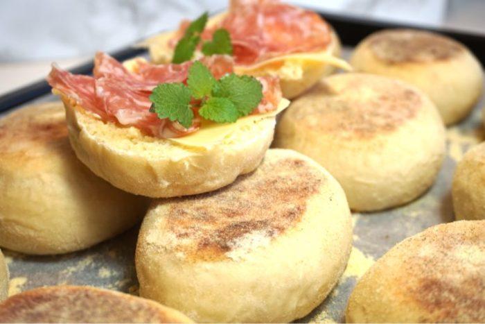 Enkla English Muffins