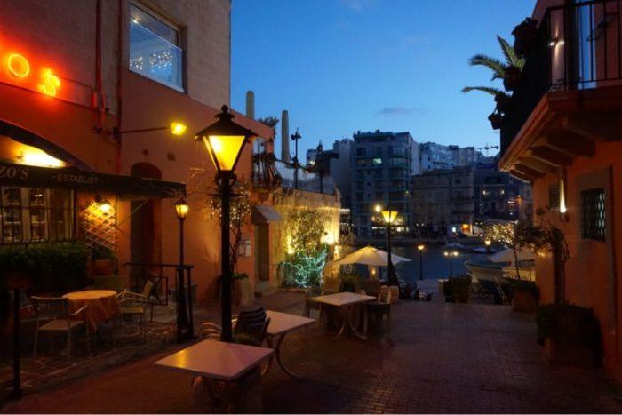 Malta - St Julians dag 1