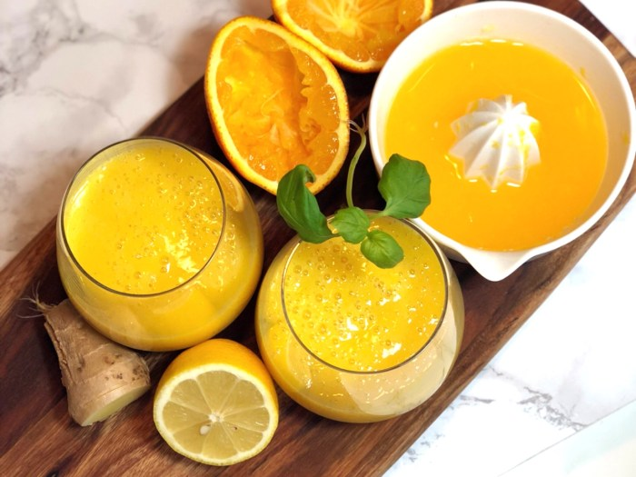 Mango Orange Smoothie