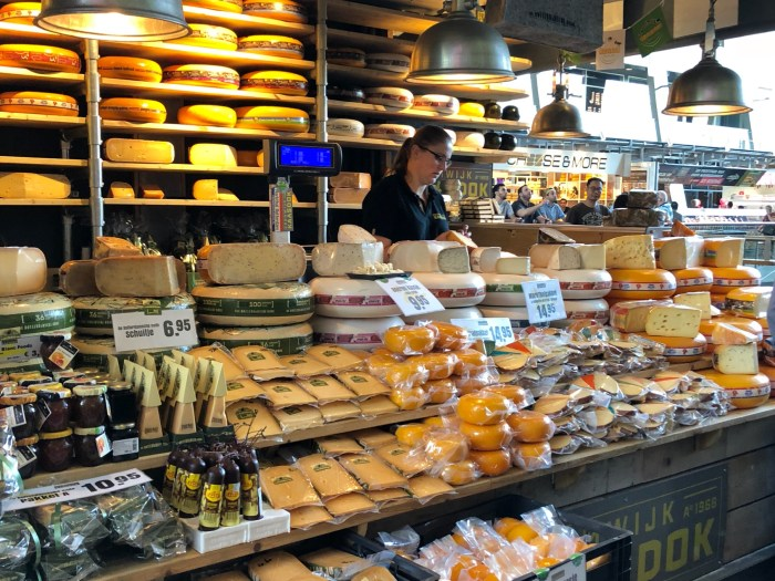 Rotterdam Markt Hal matmarknad dag 8 - Roadtrip 2018
