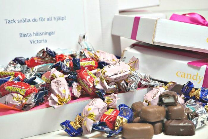 Candymail den perfekta överraskningen