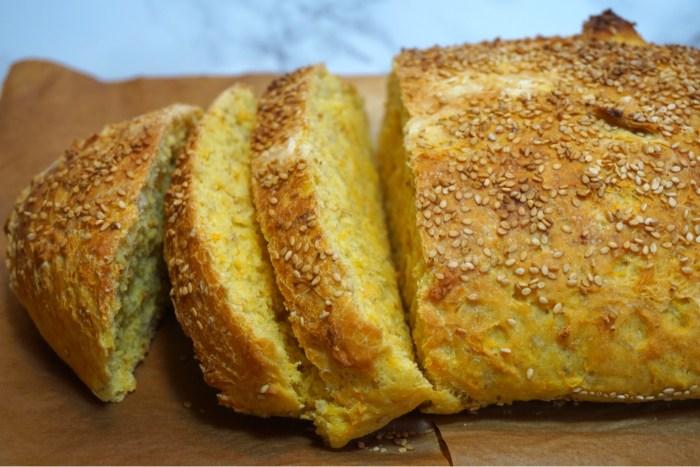 Nattjäst Hälla-ut-bröd med morot