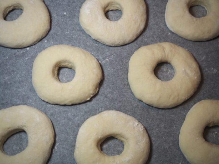 Kalljästa bagels