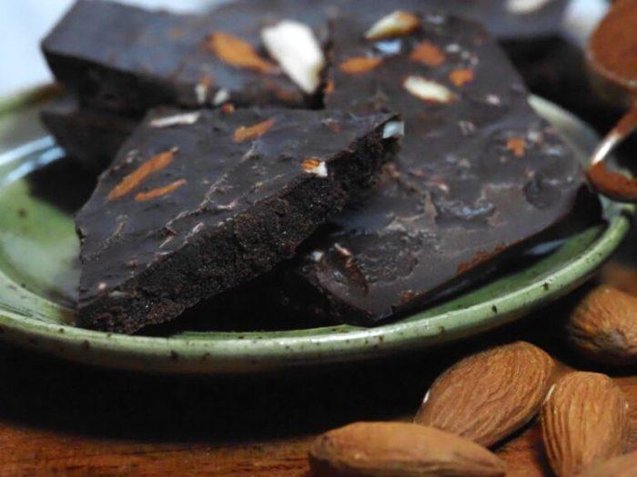 Mörk chokladkaka