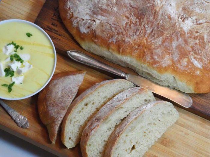 Krämig mild majssoppa