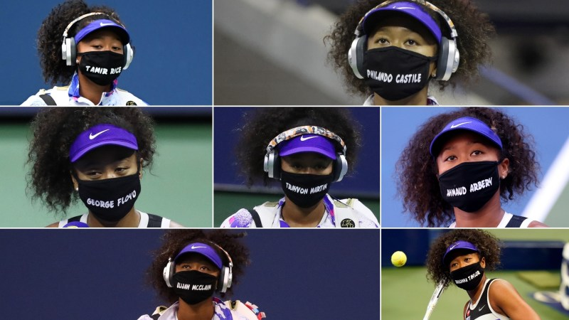 Seven matches, seven masks standing up for social justice | Watch ESPN
