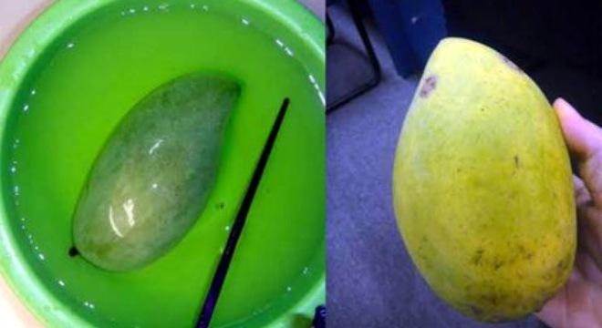 Hóa chất ngâm trong trái cây có thể gây bệnh nguy hiểm cho gan, thận