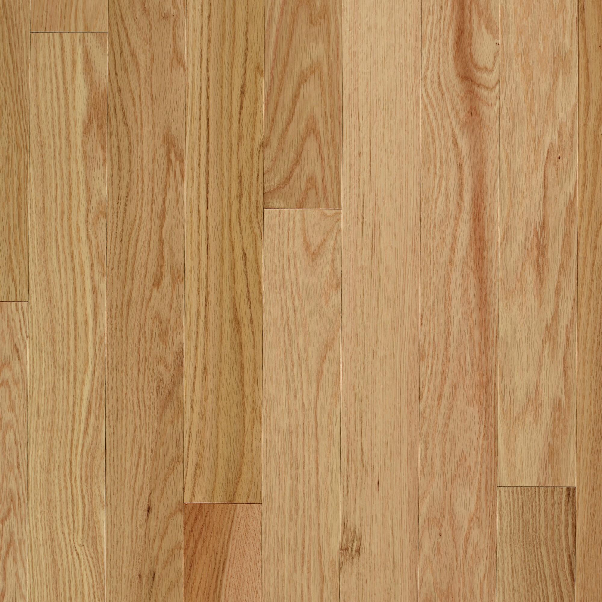 Smooth Red Oak Natural  Vintage Hardwood Flooring and