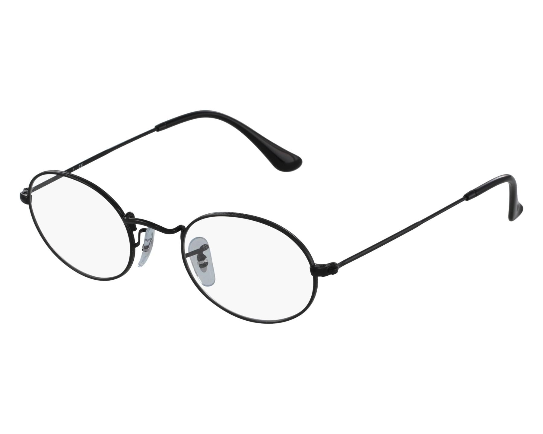 Ray Ban Eyeglasses Rx Black