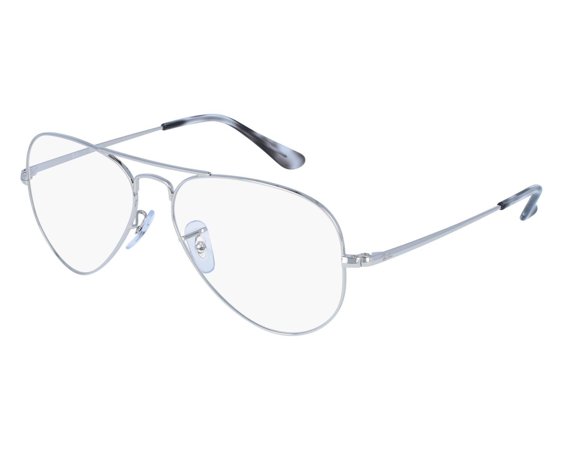 Ray Ban Eyeglasses Rx Silver