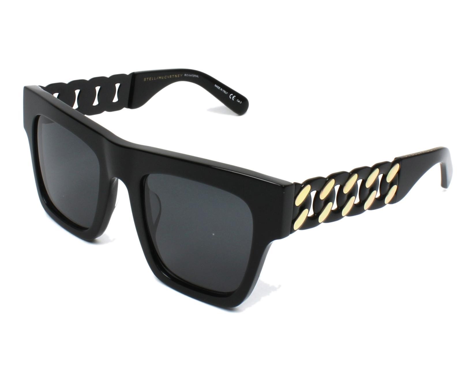 fa09f37b43 Stella Mccartney Sunglasses Sc 0066 S 001 Black Visionet