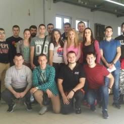 Grupna fotografija sa kolegom Kristianom Čapom