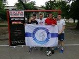 Ekipa 2 sa školskom zastavom