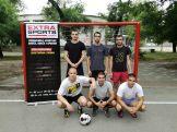 Ekipa 3: Miladinović, Stikić, Ćosić (stoje), Polić, Anđelovski, Mladenović (čuče)