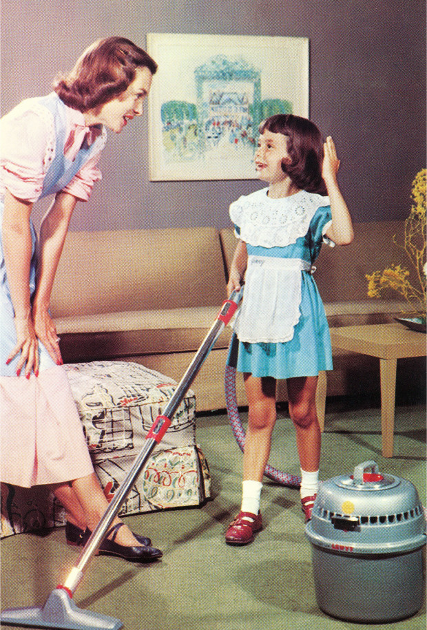 Image result for housewives desperate vacuum