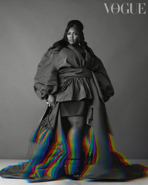 Lizzo Stars In British Vogue