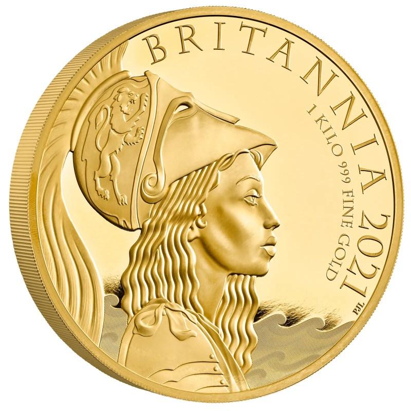 The Britannia 2021 coin.