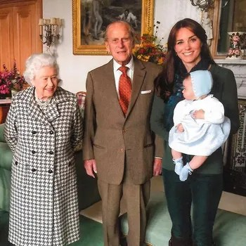 Image may contain: Tie, Accessories, Accessory, Human, Person, Clothing, Apparel, and Prince Philip, Duke of Edinburgh