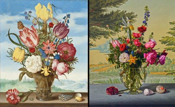 Life Flower Arrangements Inspired Famous