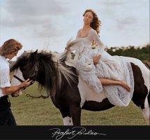 Model Weddings In Vogue