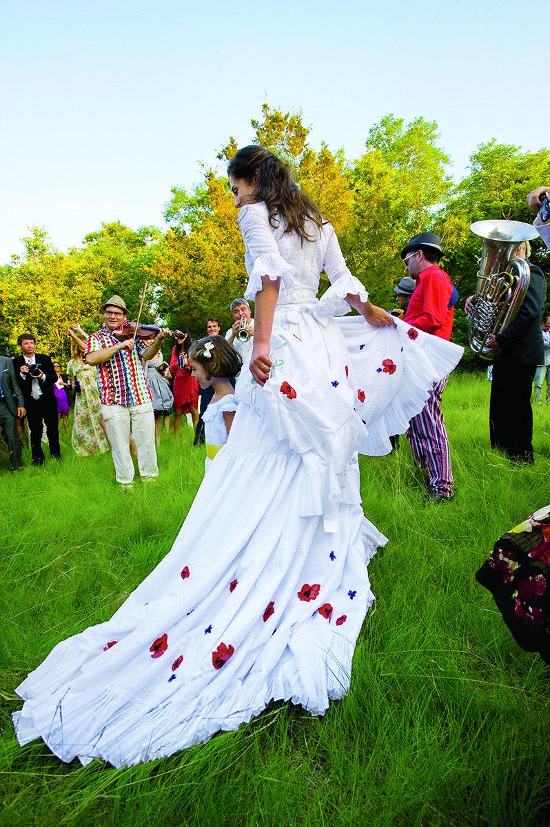 Landscape Artist Miranda Brookss Wedding to Architect